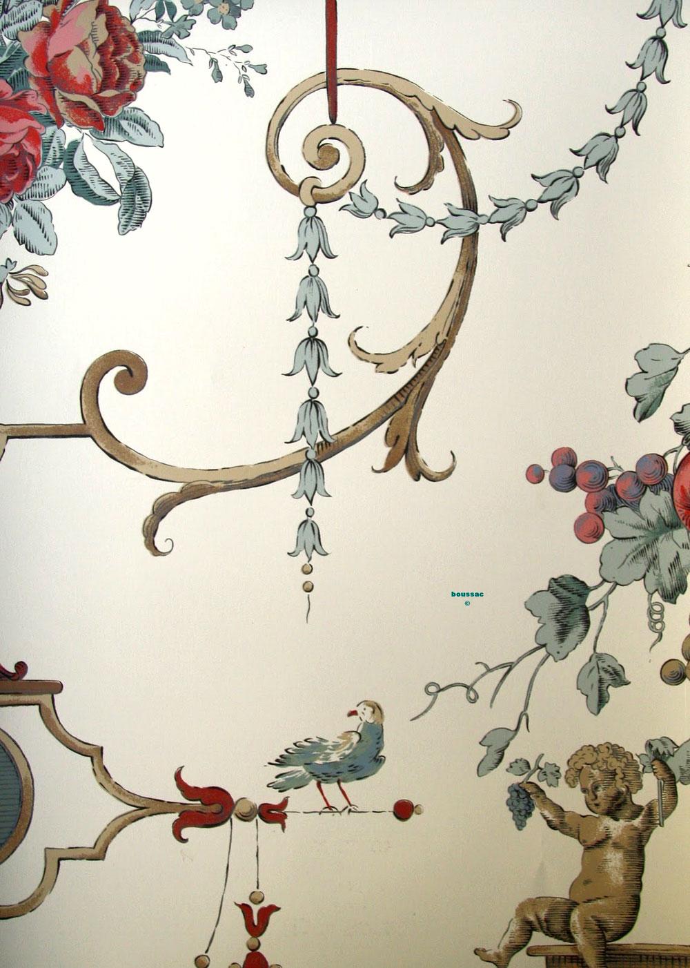 Exclusive design tapeten aus frankreich for Tapeten design