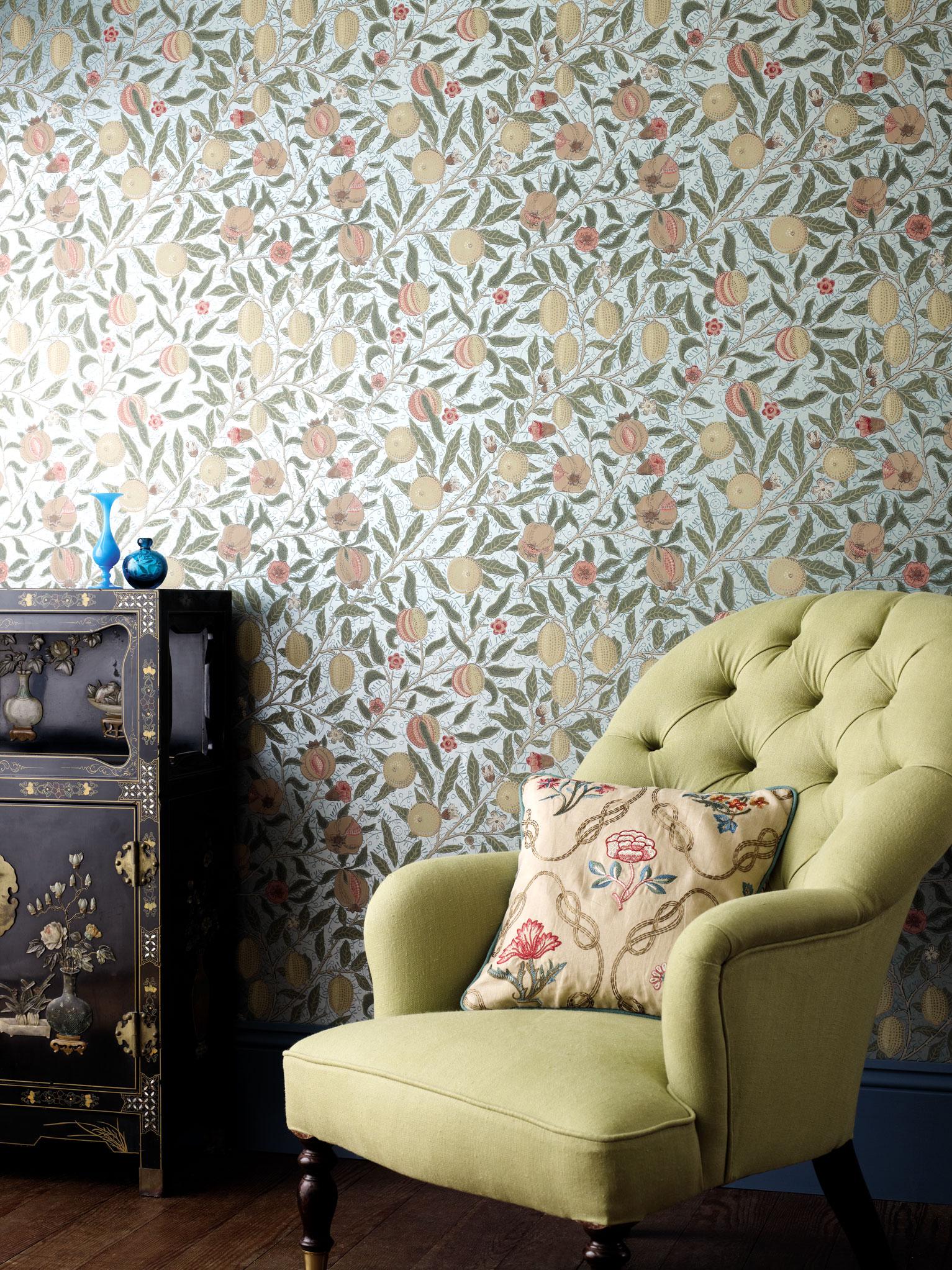 Tapeten Design Sanderson : Tapeten Design Sanderson Harlequin ? englische Tapeten online kaufen