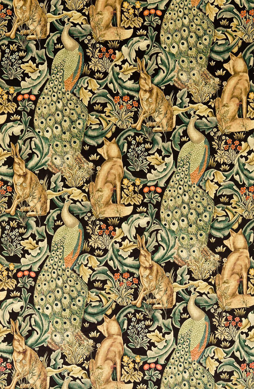 Jugendstil Stoffe Tapeten : Englische Tapetenmuster William Morris Stil Tapeten online kaufen