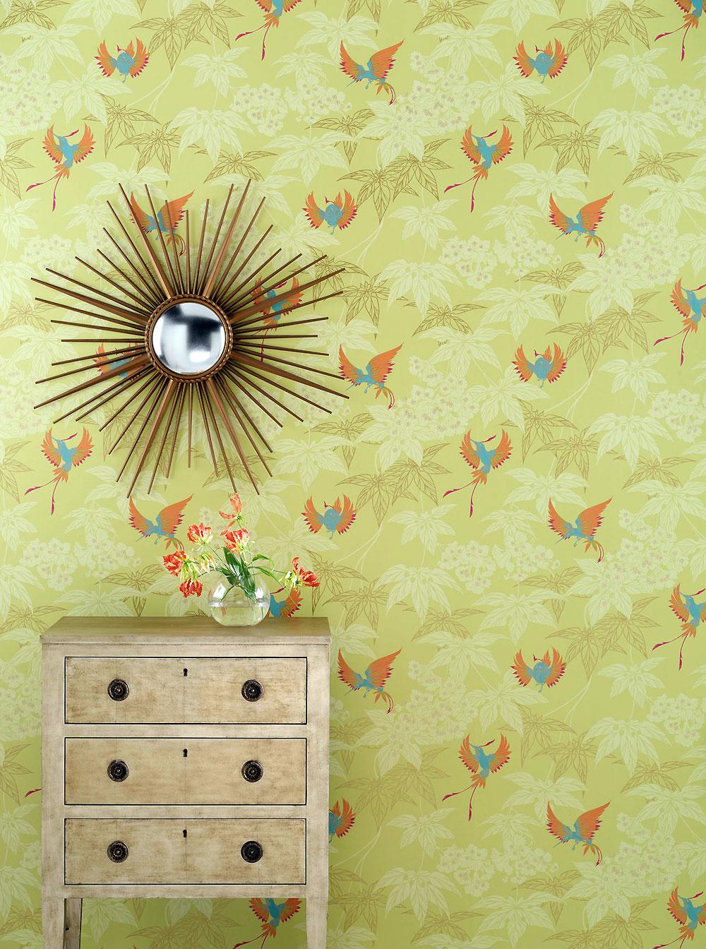Osborne and little tapeten grove garden tara wallcovering album 5 ...