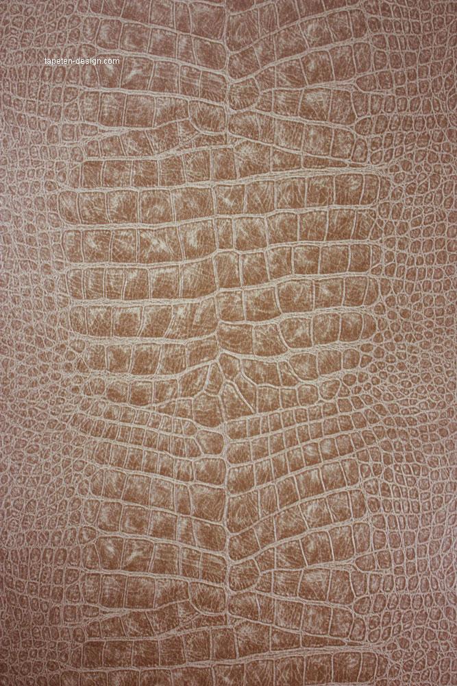 Tapeten design krokodil leder optik osborne und little for Tapeten in gold optik