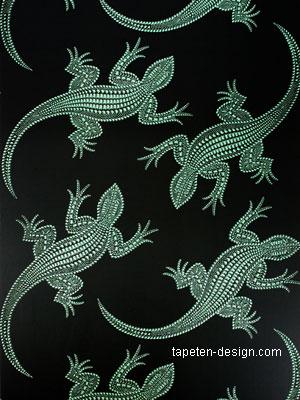 osborne little komodo tapeten krokodil optik kaufen. Black Bedroom Furniture Sets. Home Design Ideas